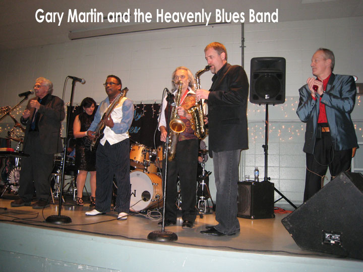 Gary Martin and the Heavenly Blues Band